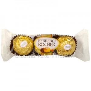 Ferrero Rocher - 3unidades