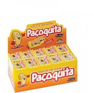 Paçoquita Box 50 unidades.