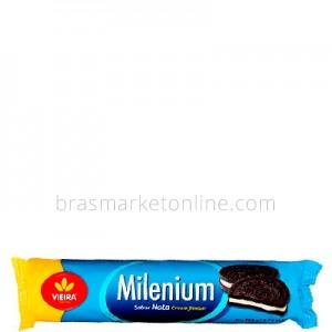 Biscoito Millenium Nata Cream Flavor Vieira de Castro - 160g