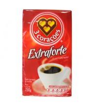 3 Corações Café à Vácuo Extra Forte 500G