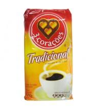 3 Corações Café à Vácuo Tradicional 500g