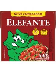 Extrato de Tomate Tetra 540g Elefante