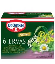 Chá 6 Ervas 10gr Dr. Oetker
