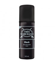 MASCULINO - Desodorante Spray Black 100ml Tres Marchand