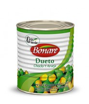 Ervilha C/ Milho Dueto 300g Bonare