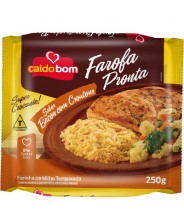 Farofa Crocante Sabor Bacon 250g Caldo Bom