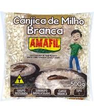 Canjica de Milho Branca 500g Amafil