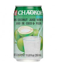 Coconut Juice With Pulp 350ml Chaokoh