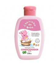 Cheirinho de Bebê Condicionador Rosa - 210ml