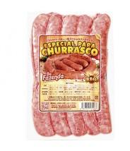 Linguiça Esp. para Churrasco 2kg Da Fazenda