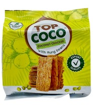 Coconut Ckacker With Mung Beans 150g Top Coco