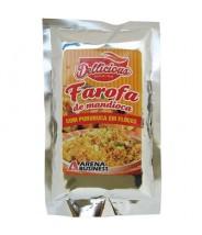 Farofa de Mandioca com Pururuca em Flocos 250g - Dellicious