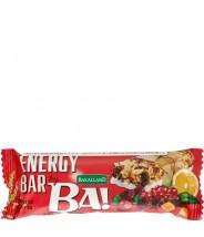 Energy Bar Cranberry & Orange 40g Bakalland