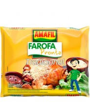 Farofa Pronta Tradicional 500g Amafil