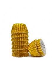 Forminha Laminada Ouro N6 100un. Bax