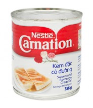 Carnation Sweetned Beverage Creamer  / Leite Condensado 388g Nestle