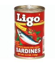 Ligo Sardines Red 155mg