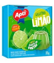 Gelatina Limão 35g Apti