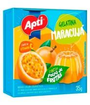 Gelatina  Maracujá 35g Apti