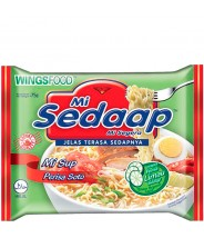 Mi Sup Perisa Soto  75g Instand Noodles  Mi Sedaap