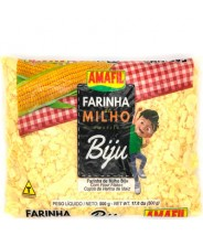 Farinha de Milho Amarela Biju 500g Amafil