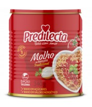 Molho de Tomate 340g Lata Predilecta