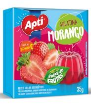 Gelatina Morango 35g Apti