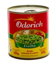 Ervilha Conserva 300g Oderich