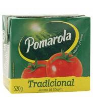 Molho de Tomate - Pomarola ( Caixa ) tradicional 520g