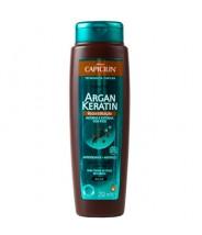 Capicilin Shampoo Argan Keratin Reconstituição 250ml